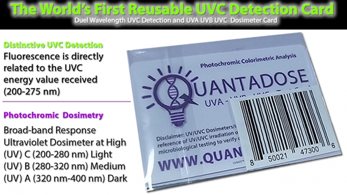 reusable-UVC-detection-card-quantadose-for-testing-germicidal-uv-light-wavelengths