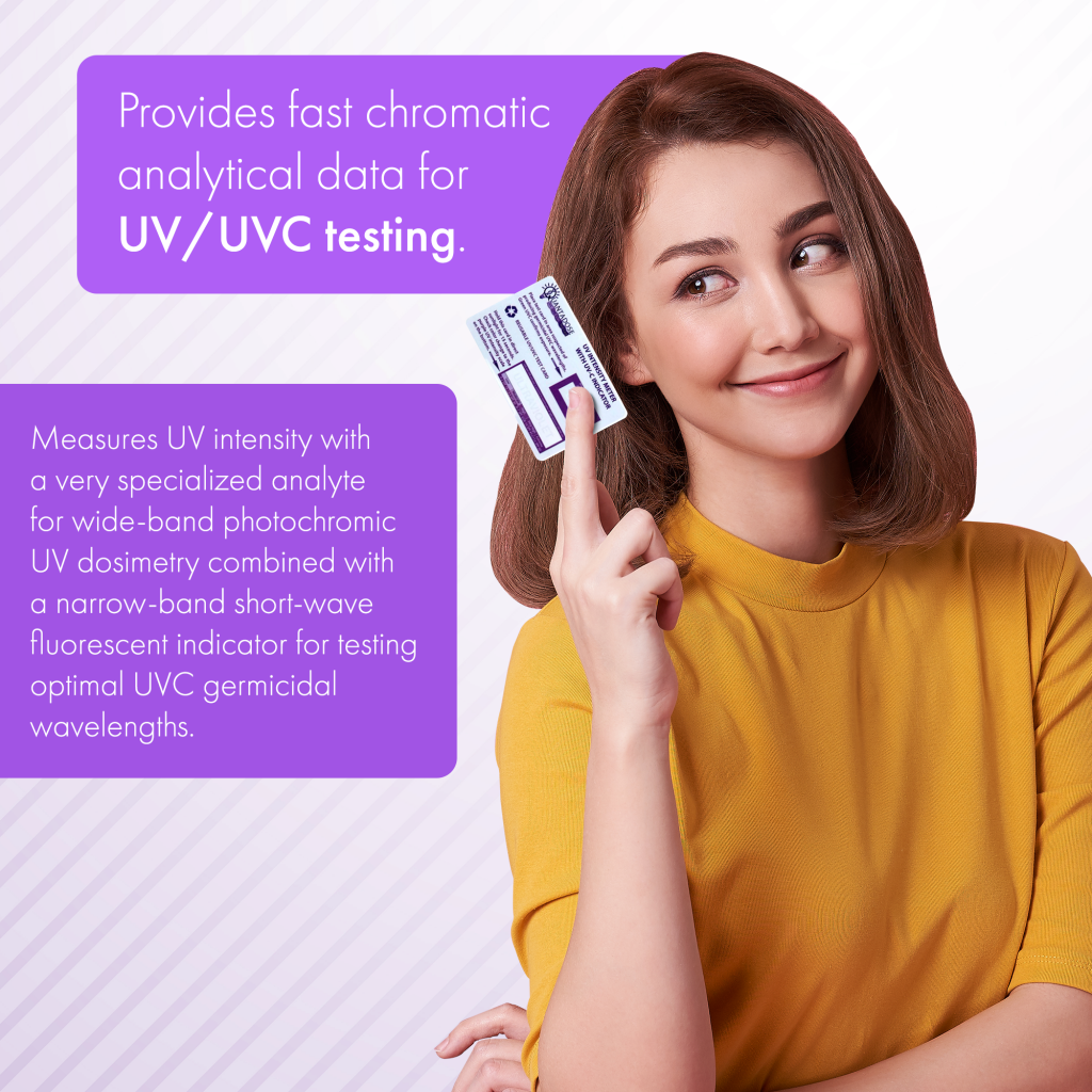 test-uv-lights-with-quantadose-uvc-test-card-how-to-test-uvc-light-test-strip