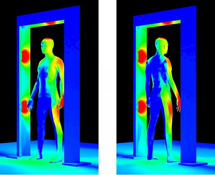 Far-uv-gate-front-Designing-far-UV-C-Germicidal-System-QuantaHall-Far-UV-Entry-Containment-Corridor-Far-UVC-Light-Decontamination-Passageway