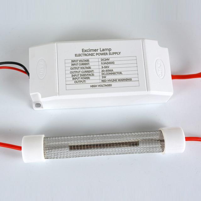 Far-uvc-Quantalamp-F-Series-FirstUVC-24V-Far-UV-222nm-5-watt-Excimer-far-uvc-222nm-5-watt-Lamp-f28-24v-dc