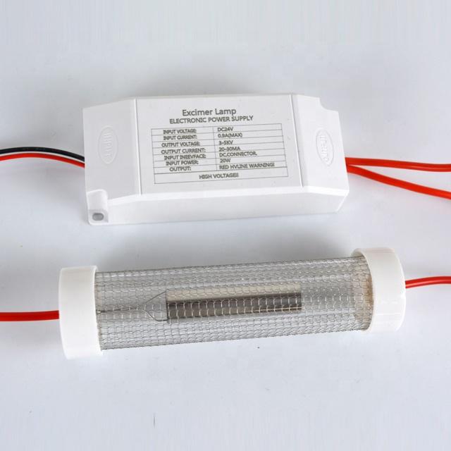 Far-uvc-Quantalamp-power-supply-F-Series-FirstUVC-24V-Far-UV-222nm-20-watt-Excimer-lamp-far-uvc-222nm-20-watt-Lamp-f28-24v-dc