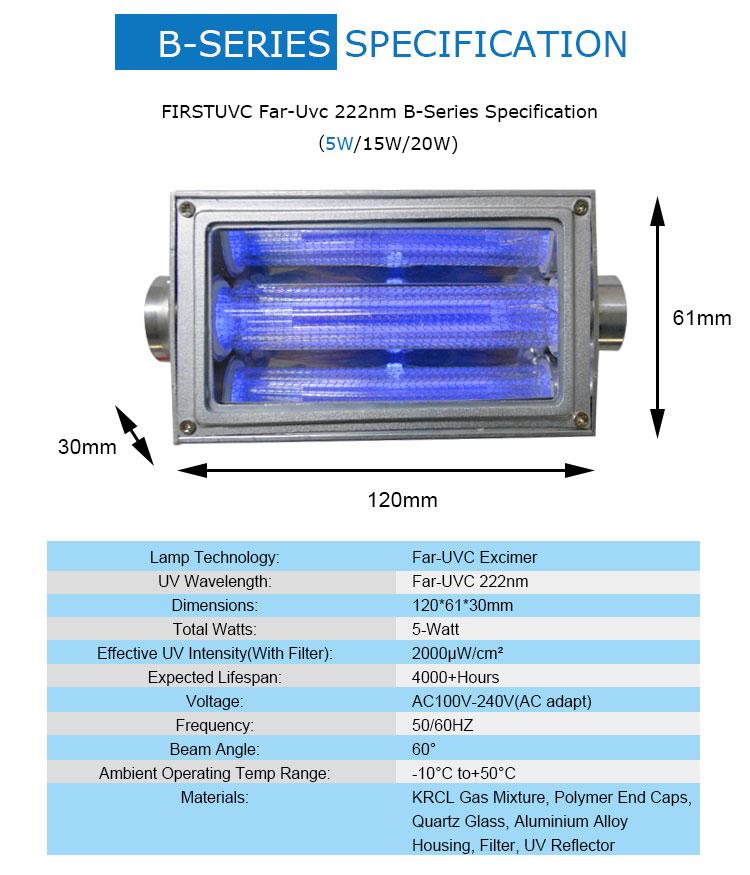 QuantaModule-b-Series-FirstUVC-24V-Far-UV-222nm-5watt-Excimer-far-uvc-222nm-5-watt-Lamp