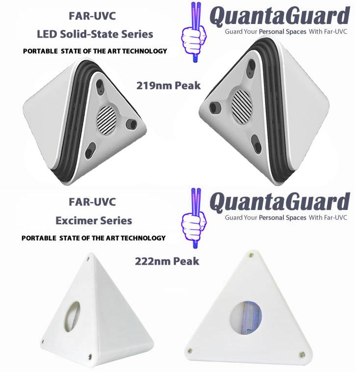 both-far-uv-bulb-LED-Solid-State-quantaguard-219nm-far-uv-led-lamp-portable- faruv-excimer-222nm-portable-table-top