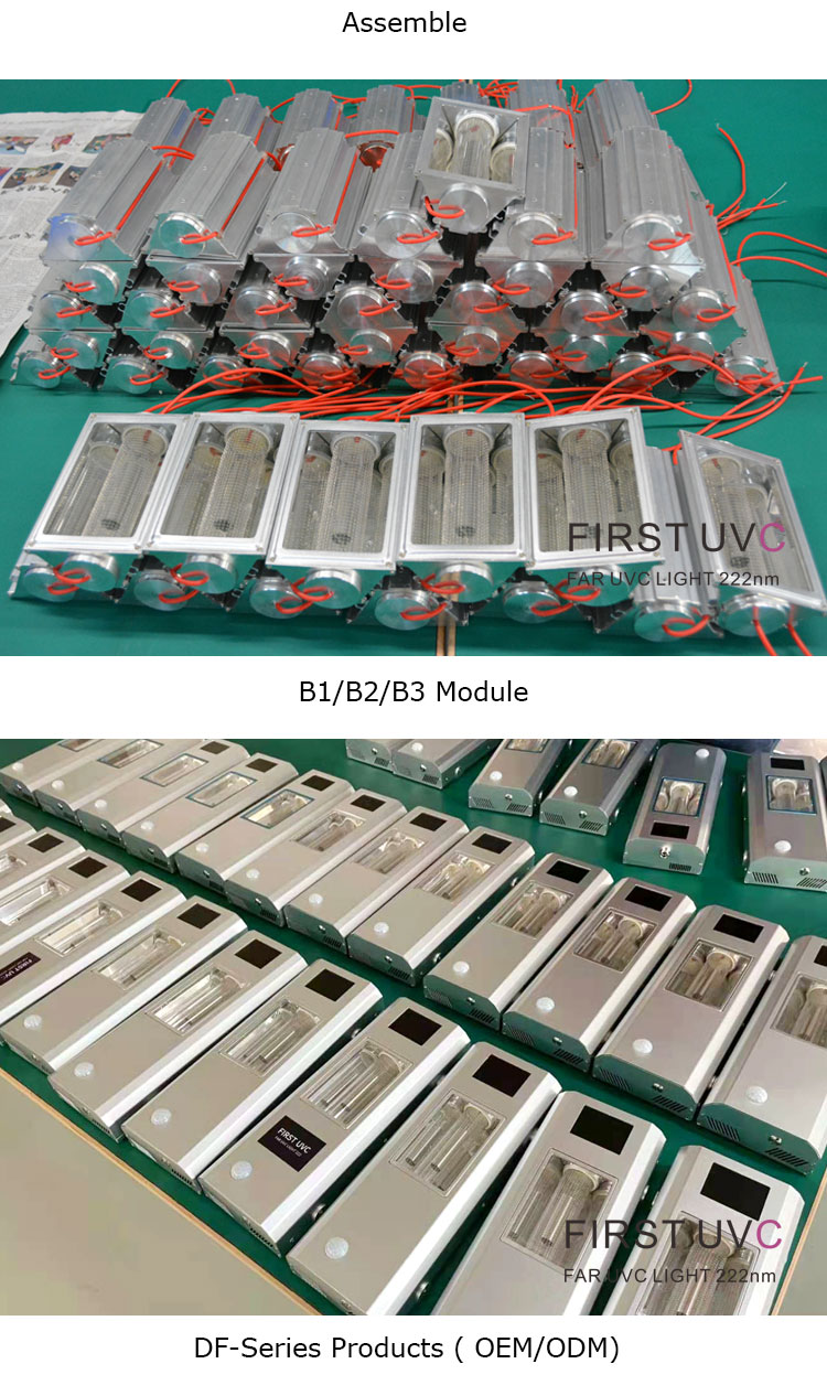 mass-production-mod-in-product-far-uv-Far-uvc-Quantalamp-b-series-FirstUVC-24V-Far-UV-222nm-20-watt-Excimer-far-uvc-222nm-20-watt-Lamp-f28-24v-dc