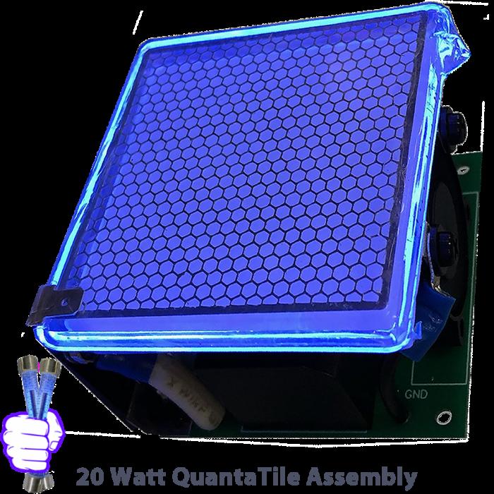 quantatiles-20-watt-far-uvc-flat--plasma-micro-lamp-krcl-222-nm-far-UVC-flap-20-w-far-uv-excimer-far-uv-light-module-Far-UVC-110v