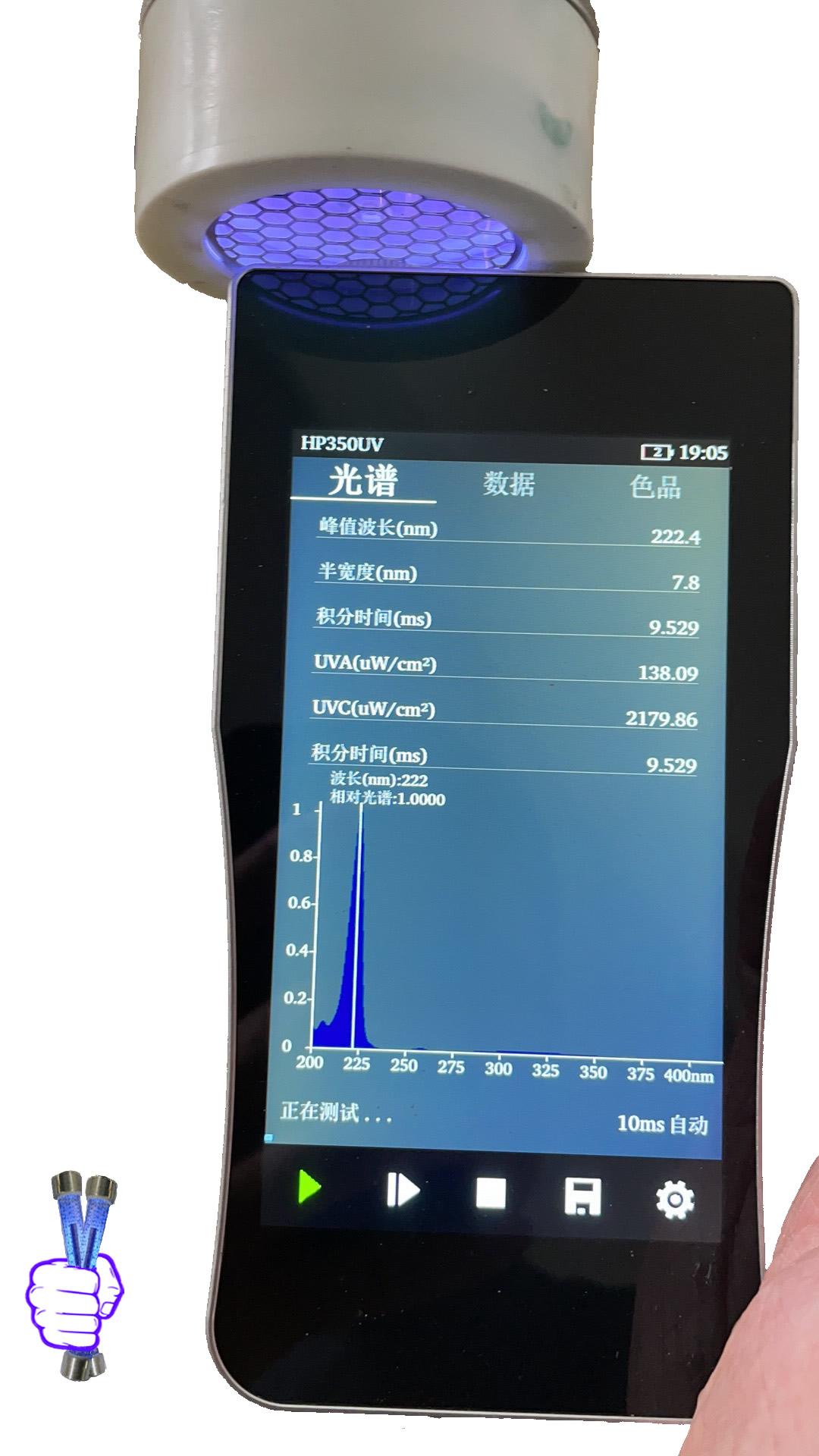 15w-222-nm-far-uvc-flat-lamp-plasma-bulb-krcl-15w-round-far-uv-24v-thin-222nm-UV-lamp15-watt-flat-excimer-lamps-display-meter
