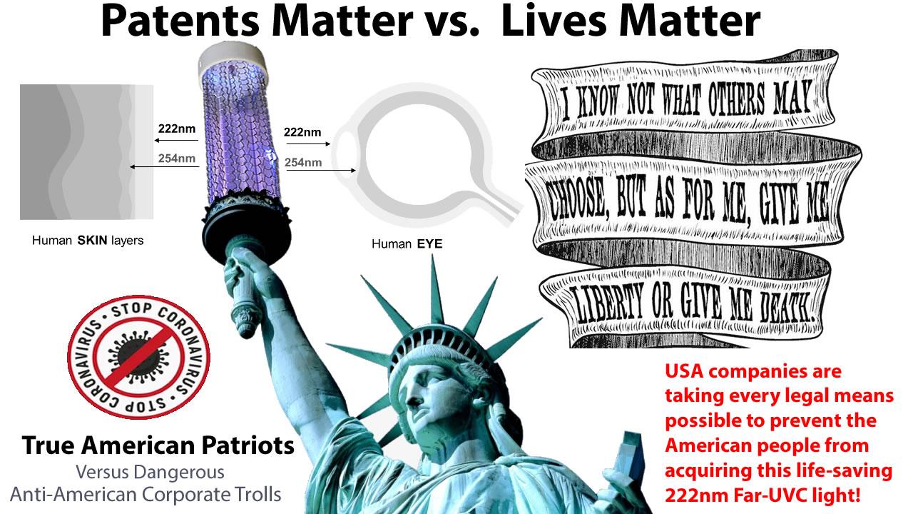 Erik-McMillan-CEO-Founder-Invictus-Innovative-Sterilization-Defends-Far-UV-Sterilray-Anti-American-Corporate-Trolls-Patents-Matter-vs-True-American-Patriot-Lives-Matter
