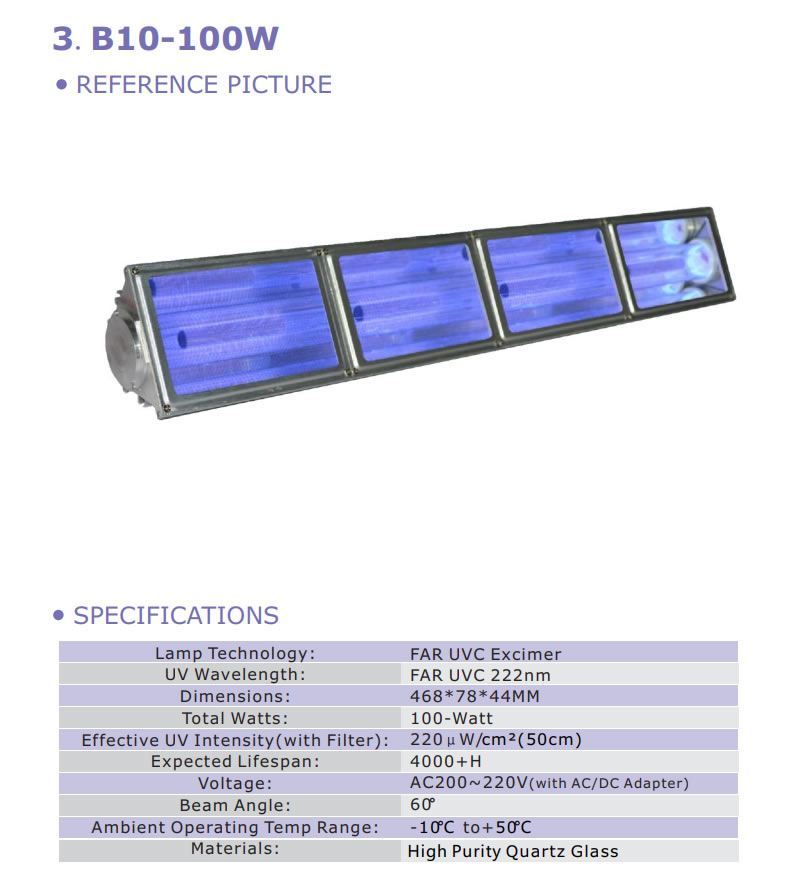 100w-krcl-excimer-module-filtered-222nm-peak-far-uvc-ap-uvgi-100-watt-far-uv